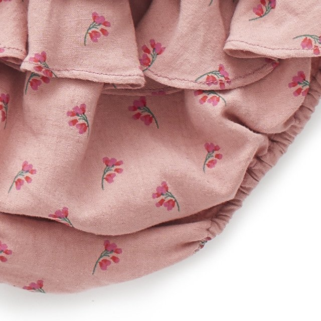 【SALE 30%OFF】Ruffled Bloomers Rose/Flowers img6