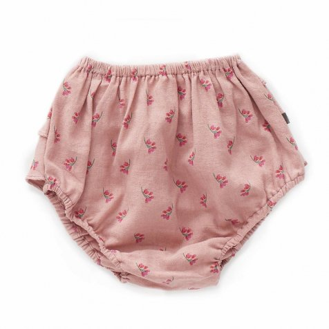 【SALE 30%OFF】Ruffled Bloomers Rose/Flowers