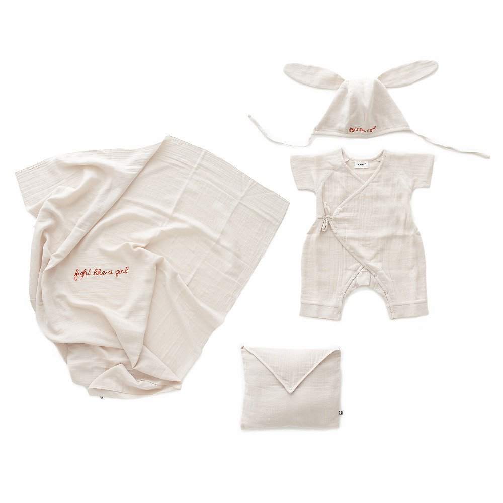 【SALE 30%OFF】Baby Swaddle Set Lt.Pink img