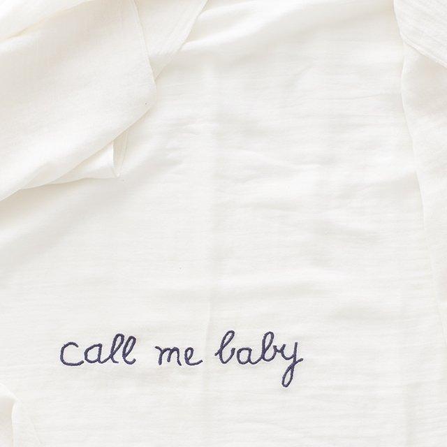 【SALE 30%OFF】Baby Swaddle Set White img1