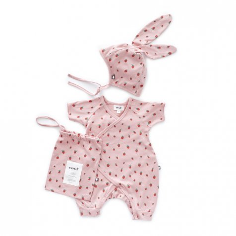 Baby Bunny Set Rose/Strawberries