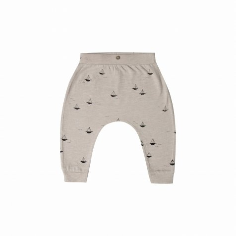sail boat slouch pant pebble