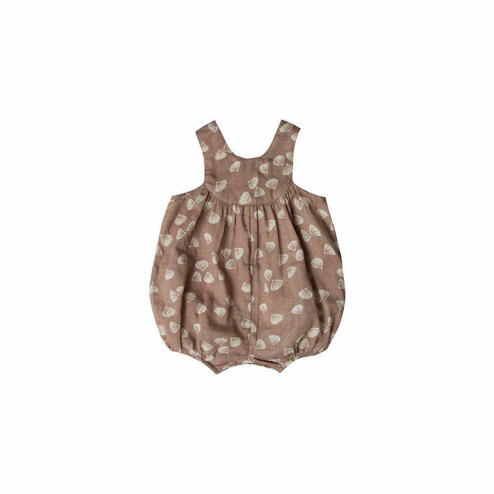 【SALE 30%OFF】seashell june romper cocoa img