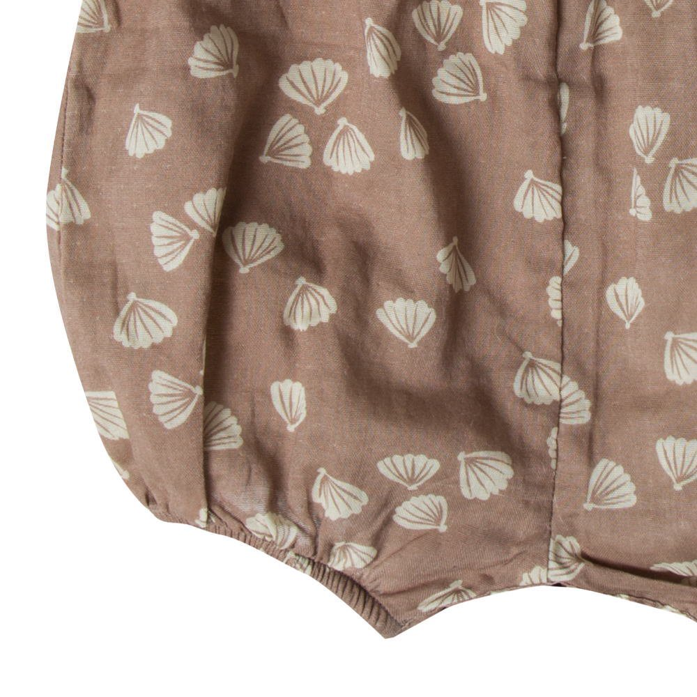 【SALE 30%OFF】seashell june romper cocoa img2