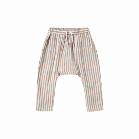 【WINTER SALE 40%OFF】cocoa stripe hawthone trouser cocoa/ivory