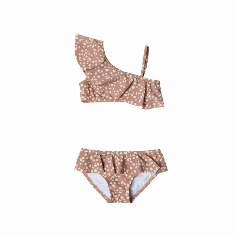 pebble skirted bikini terra cotta