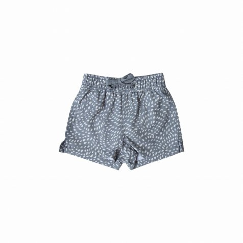 dash waves swim trunk stormy blue