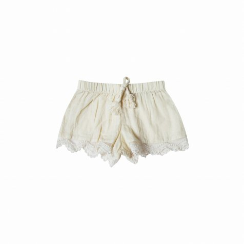【WINTER SALE 40%OFF】scallop short ivory