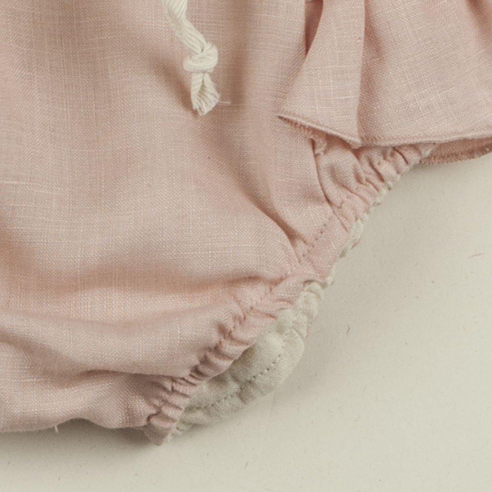 【SUMMER SALE 50%OFF】Pink culotte with frills img2
