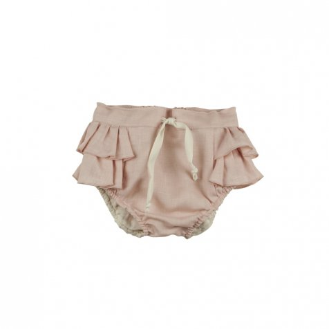 【40%OFF→50%OFF】Pink culotte with frills