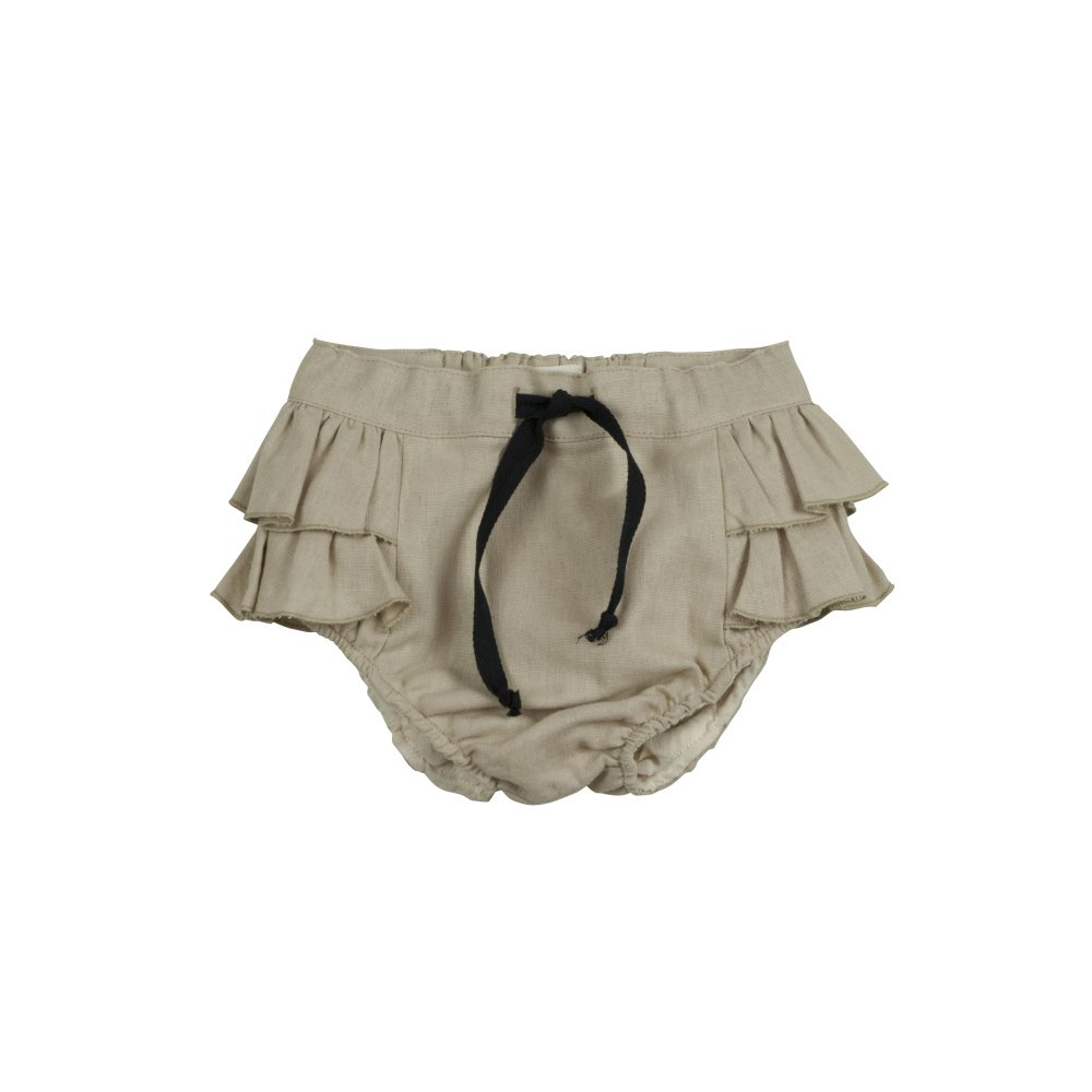 【SALE 30%OFF】Beige culotte with frills img