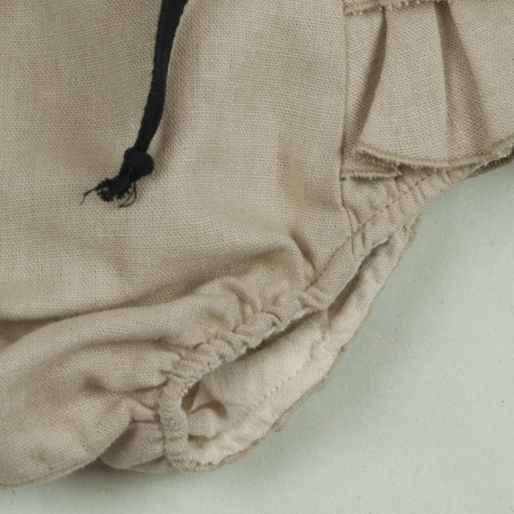 【SALE 30%OFF】Beige culotte with frills img2
