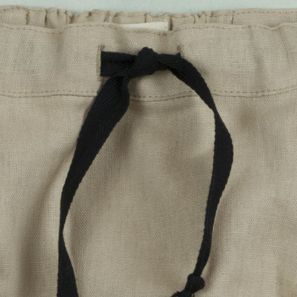 【SALE 30%OFF】Beige culotte with frills img3