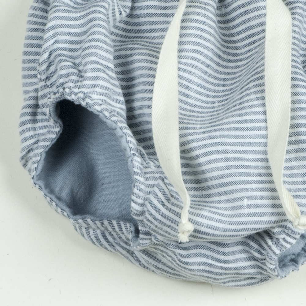Reversible culotte blue and sailor stripes img6