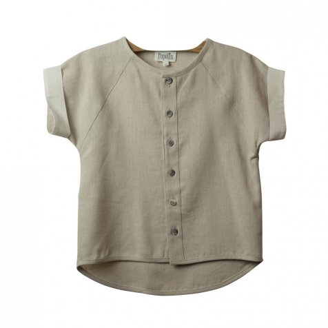 【SALE 30%OFF】Beige raglan sleeve shirt
