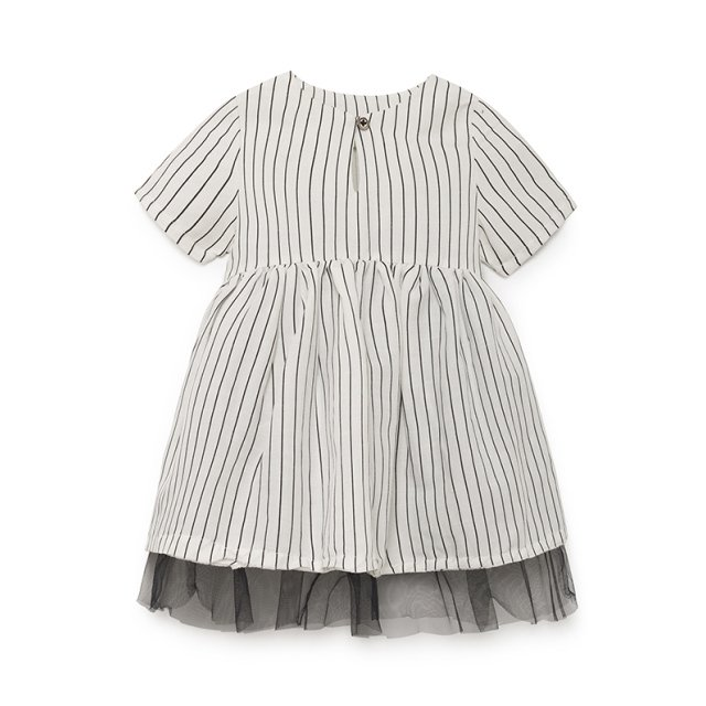 【SALE 30%OFF】Tap Baby Dress WHITE img