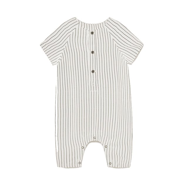 【SALE 30%OFF】Tap Baby Jumpsuit WHITE img