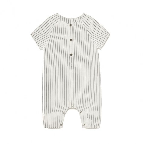 【60%OFF】Tap Baby Jumpsuit WHITE