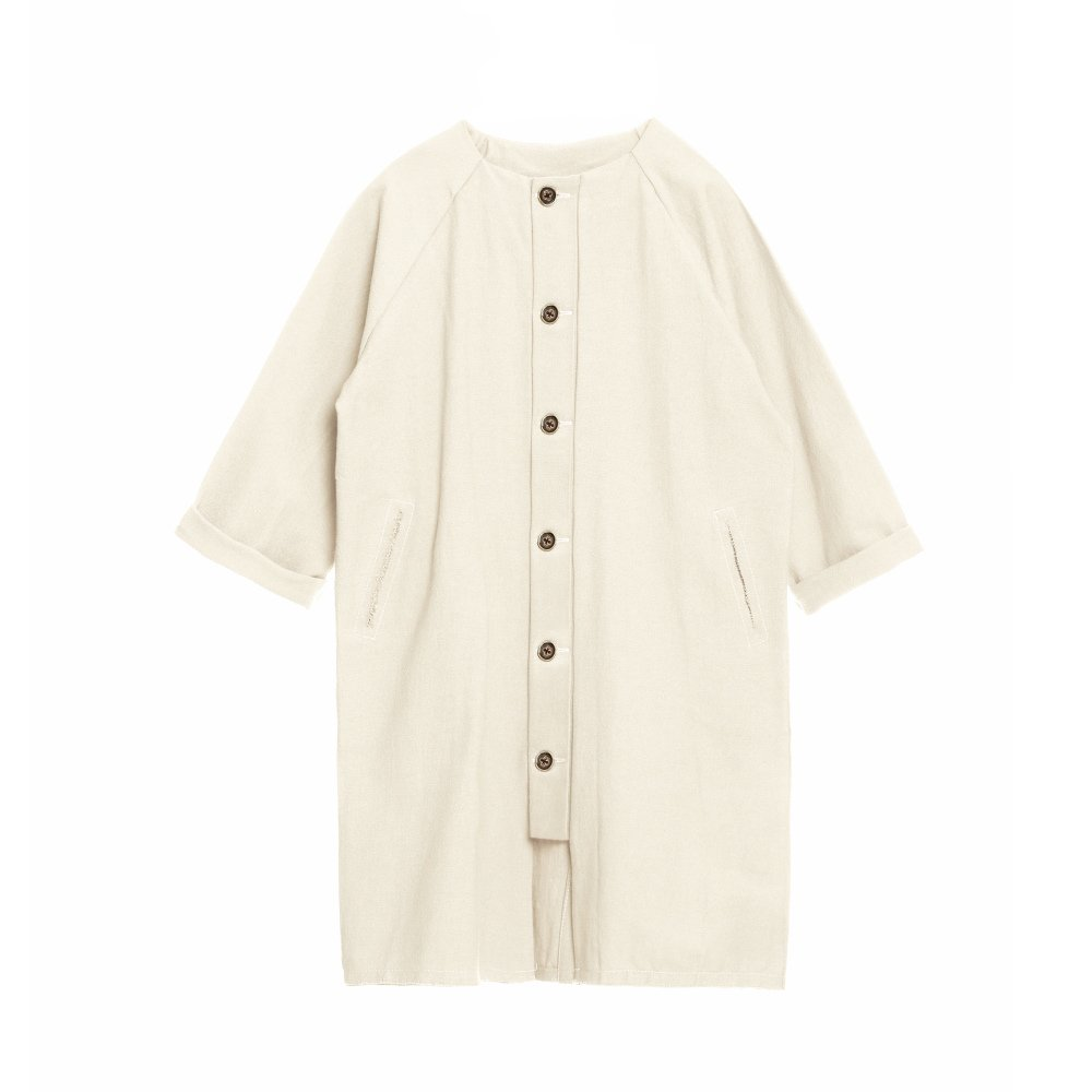 【SALE 30%OFF】Dancer's Button Coat IVORY img2