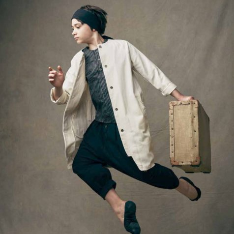【SALE 30%OFF】Dancer's Button Coat IVORY
