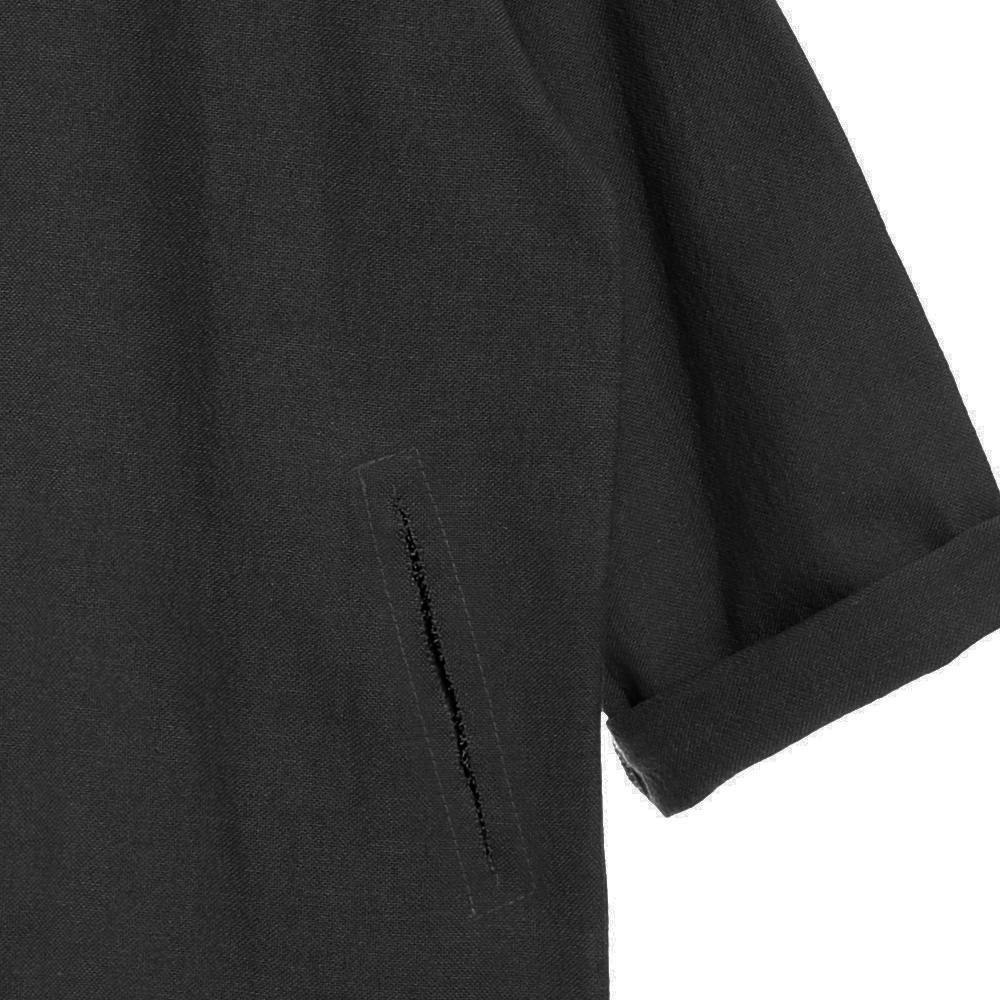 【SALE 30%OFF】Dancer's Button Coat BLACK img3