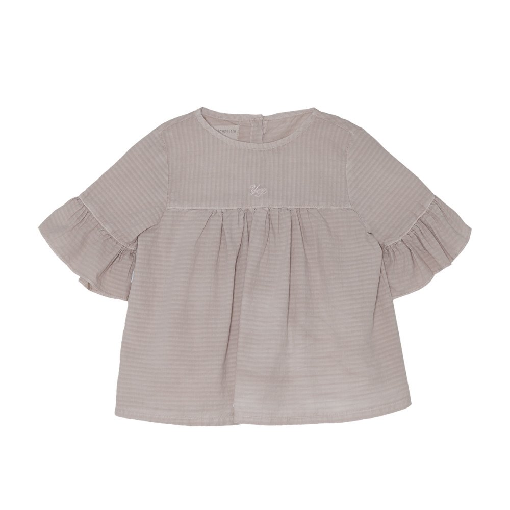 【SALE 30%OFF】Wendy Blouse Grey Sand img