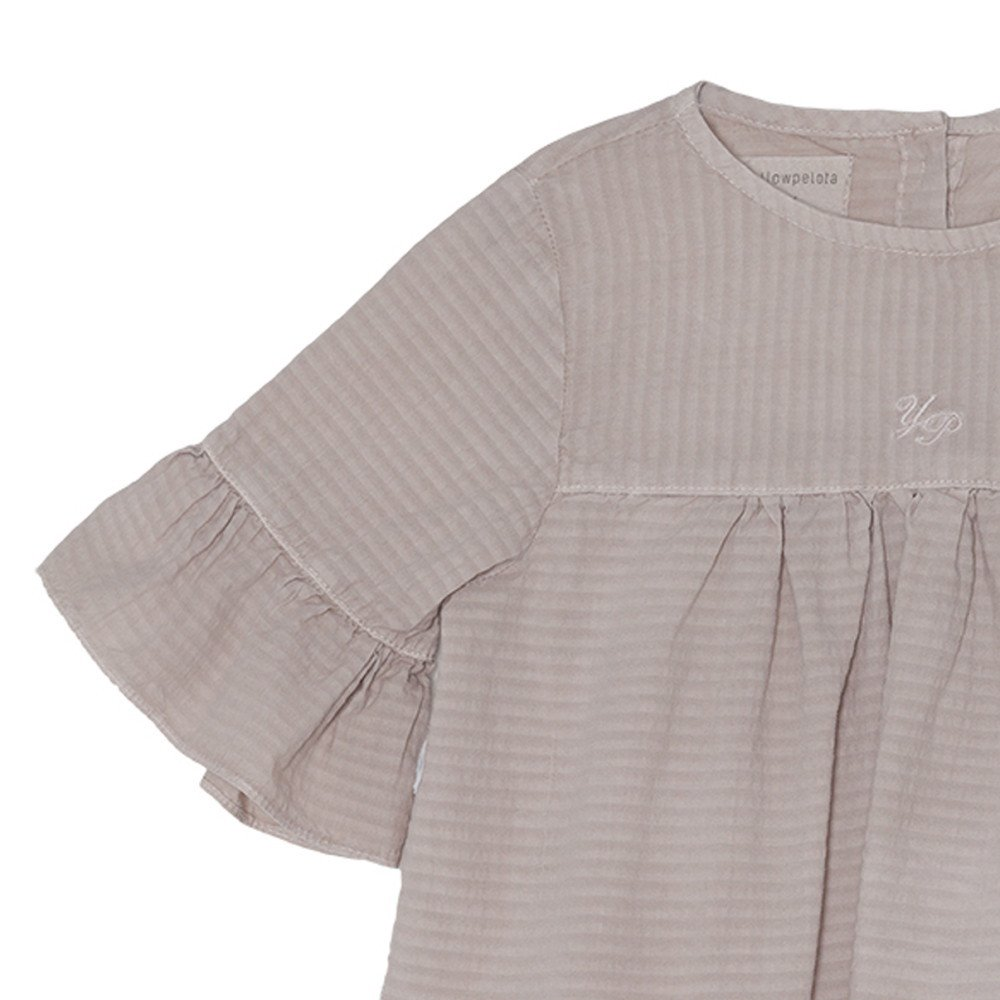 【SALE 30%OFF】Wendy Blouse Grey Sand img1