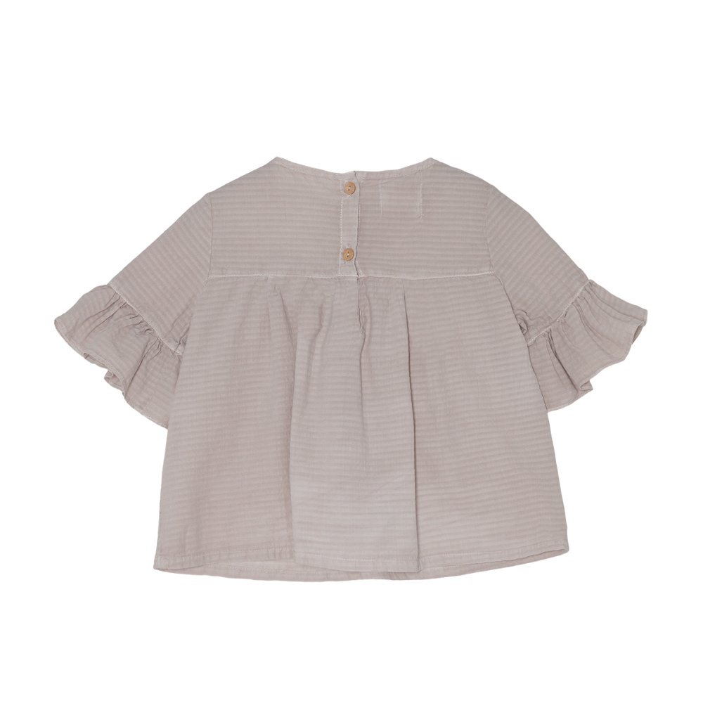 【SALE 30%OFF】Wendy Blouse Grey Sand img2