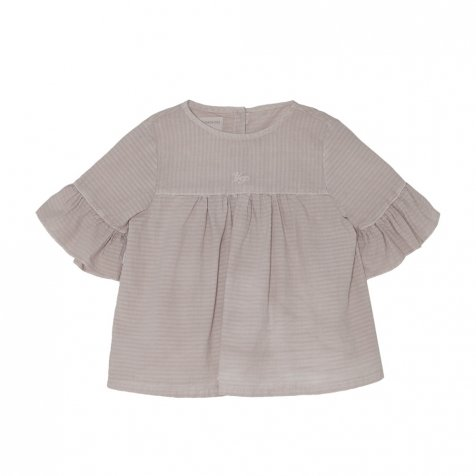 【SALE 30%OFF】Wendy Blouse Grey Sand