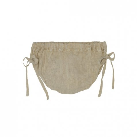 【SALE 30%OFF】Natural linen Bloomer Soft Lemon