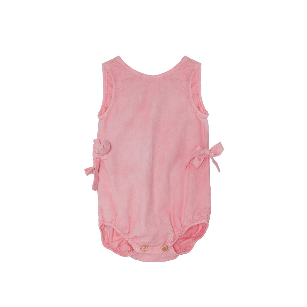 【SALE 30%OFF】Bow romper Strawberry img