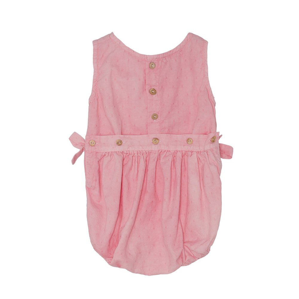 【SALE 30%OFF】Bow romper Strawberry img2