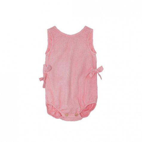 【SALE 30%OFF】Bow romper Strawberry