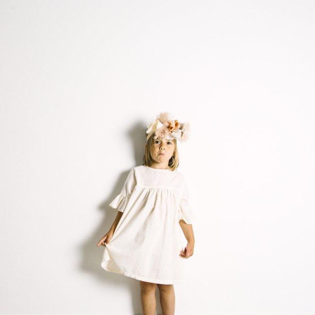【SALE 30%OFF】Nightie Dress Natural Flour img4