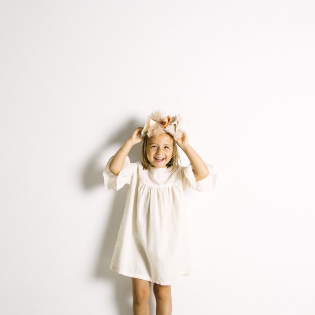 【SALE 30%OFF】Nightie Dress Natural Flour img6