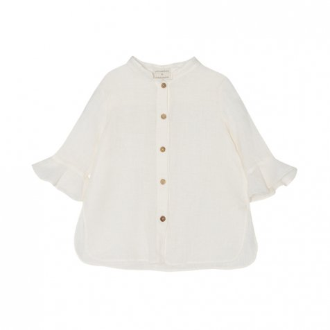 【SALE 30%OFF】Vega Blouse Natural Flour