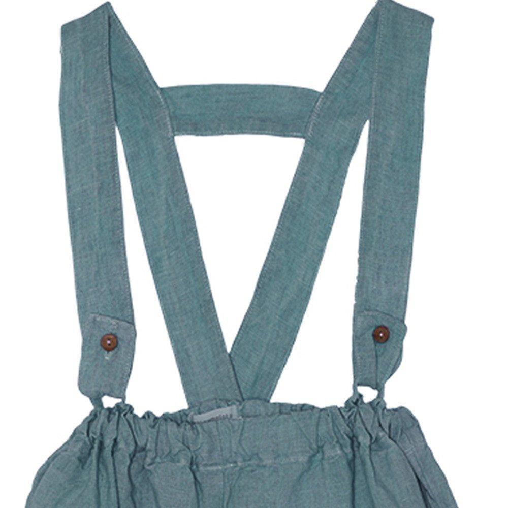 【SALE 30%OFF】Linen Pant Skirt Blue Sky img1