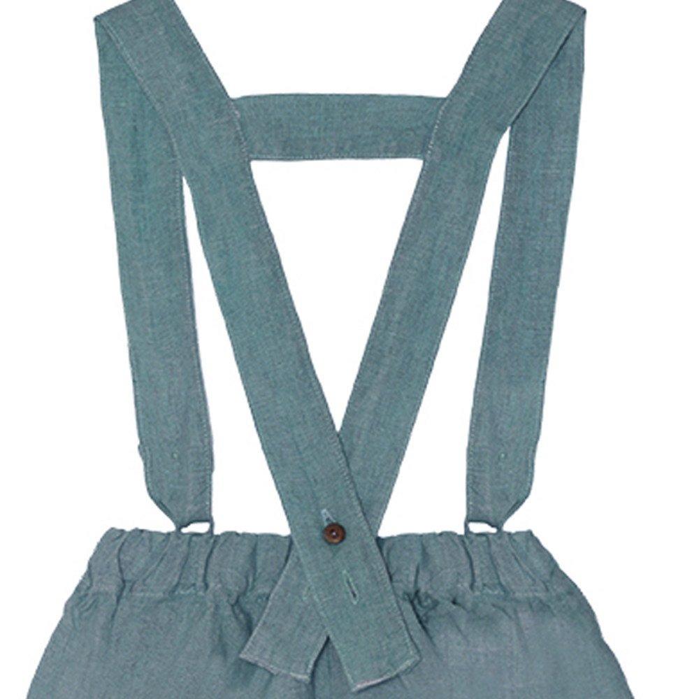 【SALE 30%OFF】Linen Pant Skirt Blue Sky img3