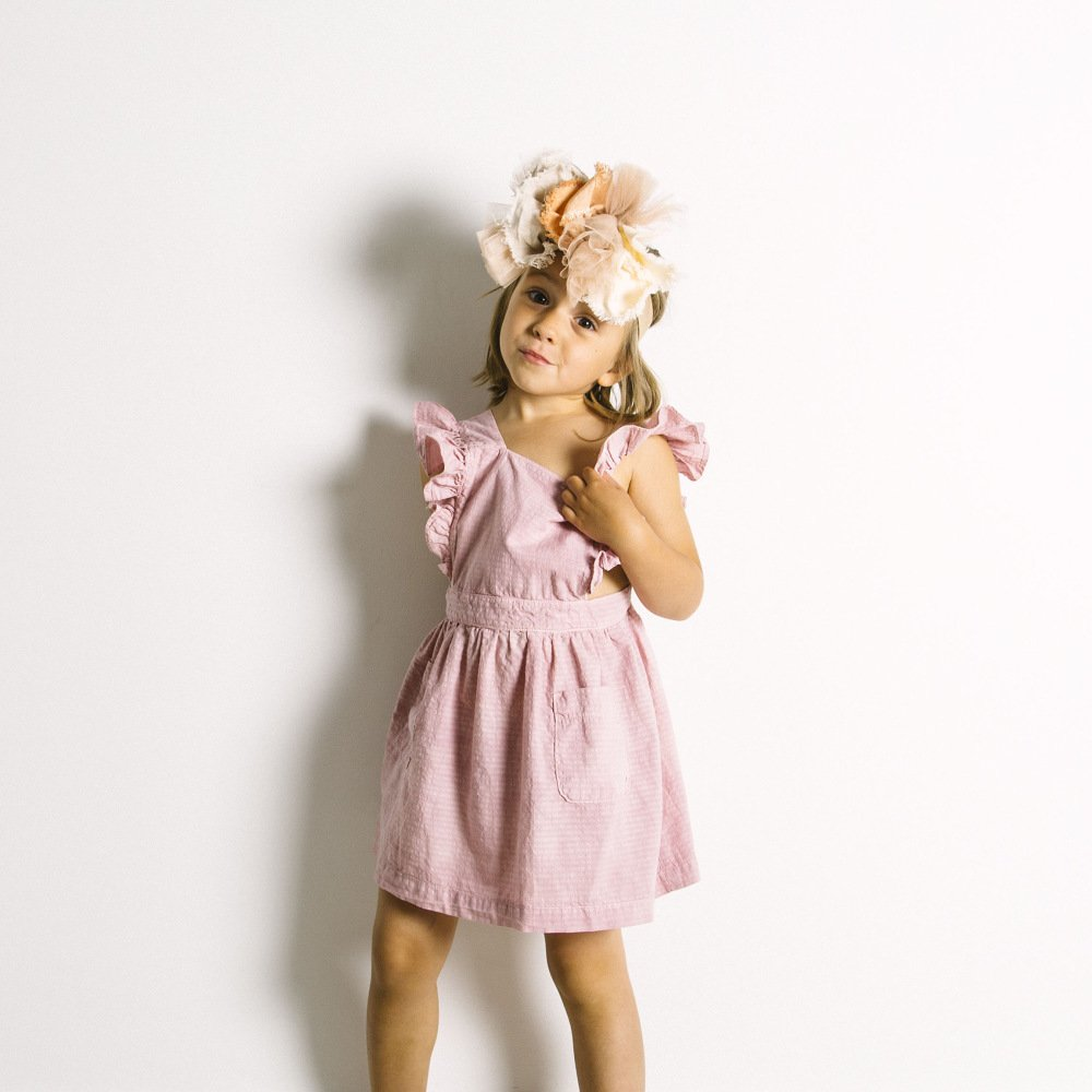 【SALE 30%OFF】Homeground Dress Natural Flour img4
