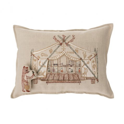 PILLOWS Bear Apothecary Tent Pocket