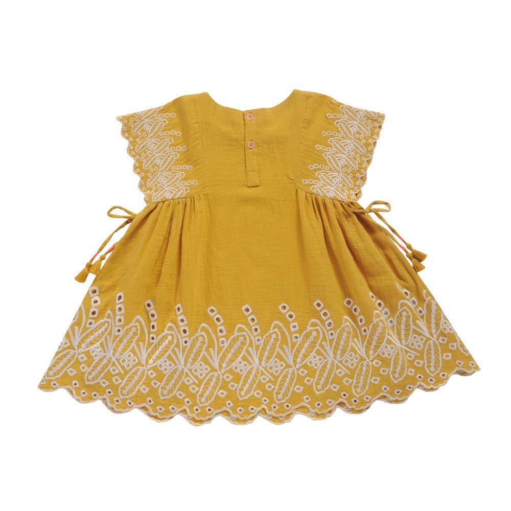 【30%OFF→40%OFF】Dress Nouchka Safran img1