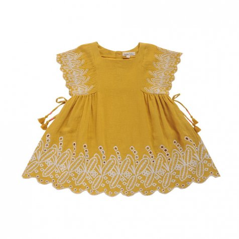 【30%OFF→40%OFF】Dress Nouchka Safran