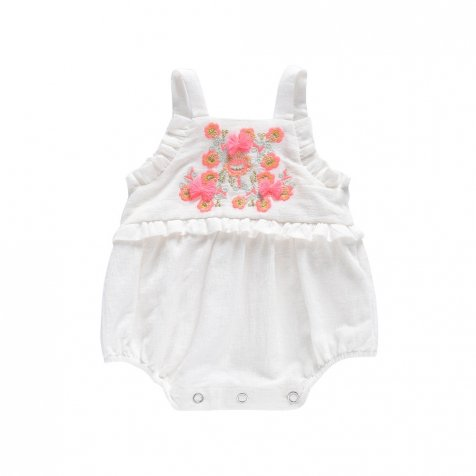 【SALE 30%OFF】Rompers Anjali White