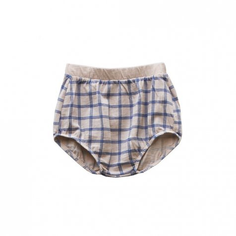 【SALE 30%OFF】CHOU CHECK Bloomer 100% cotton Pierre