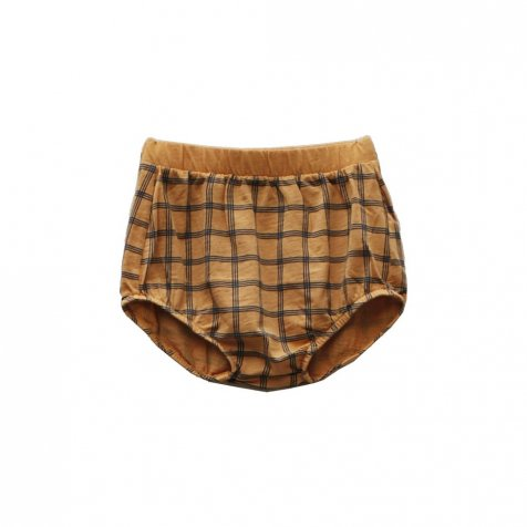 【SALE 30%OFF】CHOU CHECK Bloomer 100% cotton Melon