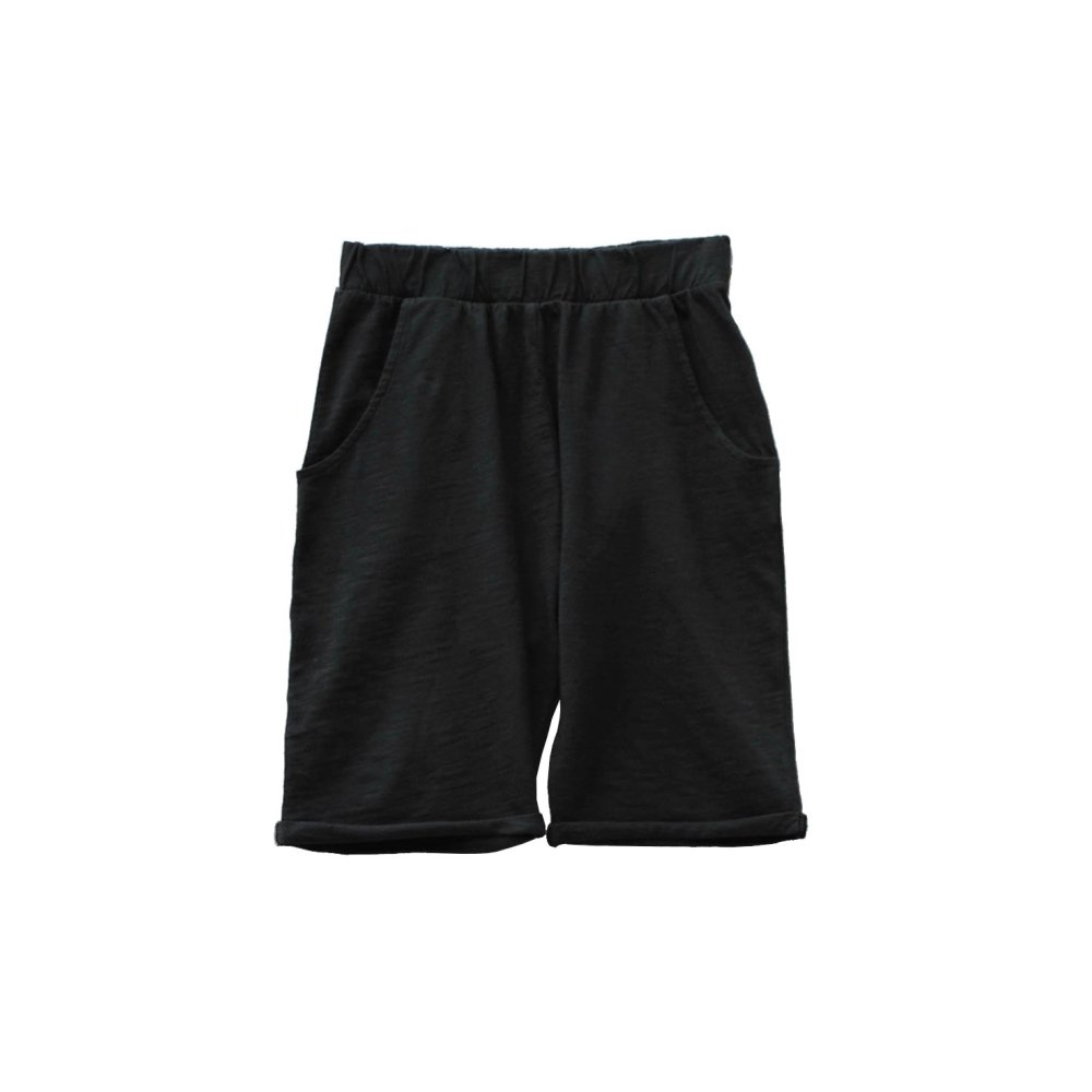 【SUMMER SALE 50%OFF】HIDO shorts 100% cotton Black Sand img