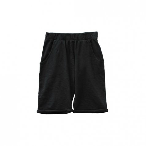 【SALE 30%OFF】HIDO shorts 100% cotton Black Sand