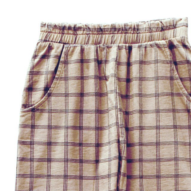 【SUMMER SALE 50%OFF】HIDO CHECK shorts 100% cotton Pierre img1