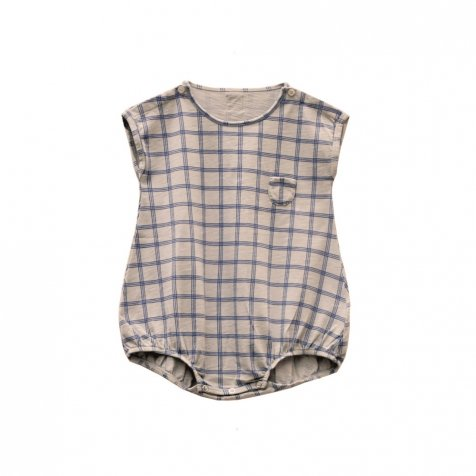 PEPINO CHECK romper 100% cotton Pierre