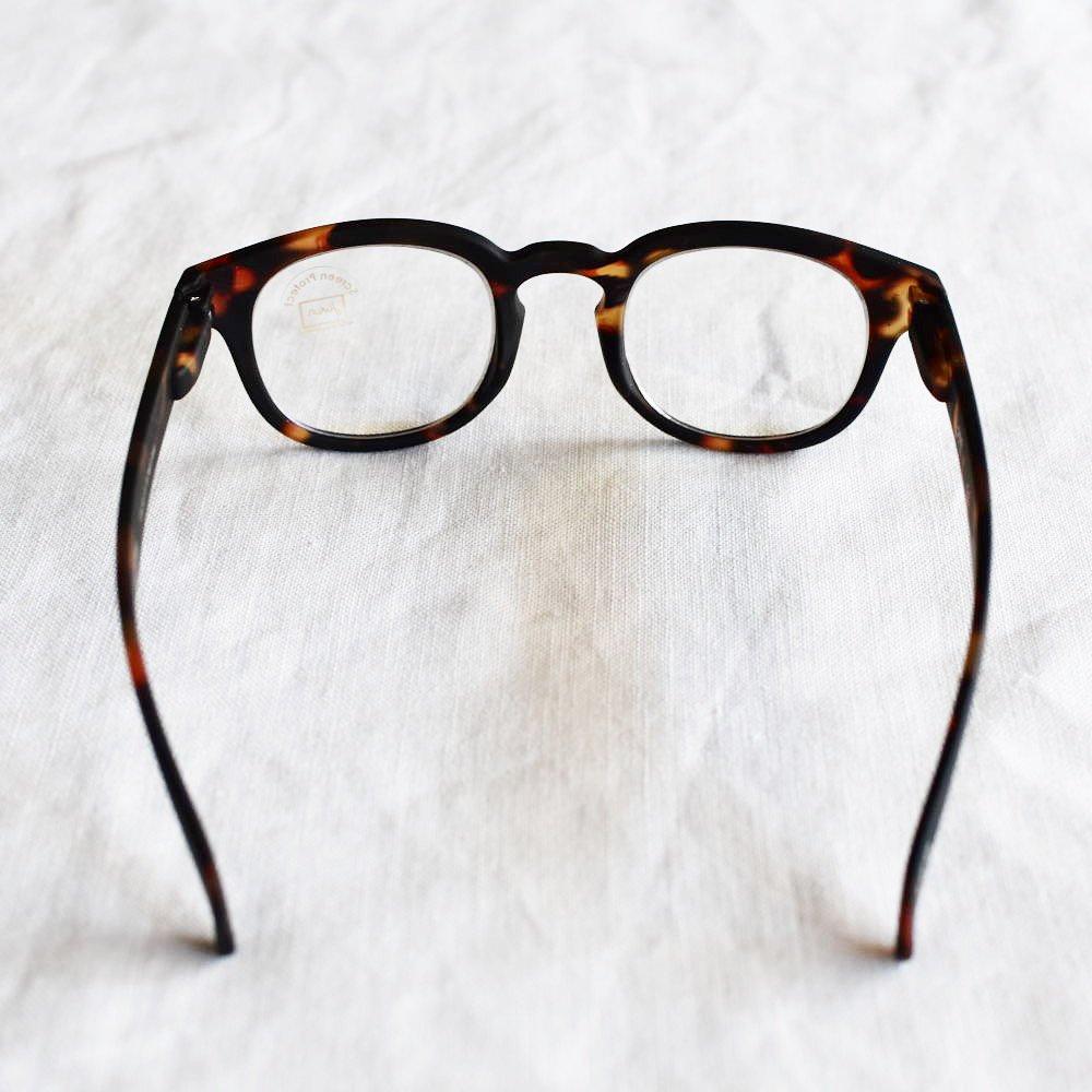 GLASS FOR SCREENS JUNIOR ブルーライトカット眼鏡 #C TORTOISE img3